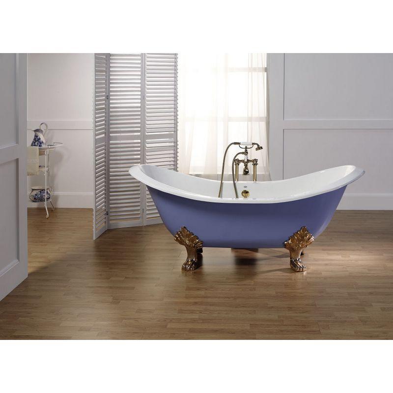 badkar med lejontassar