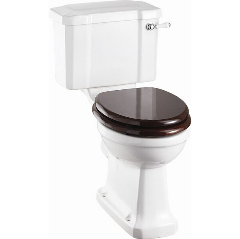 Burlington toalett med smal cistern
