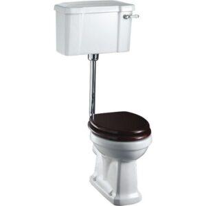 Burlington lågspolande toalett med bred cistern