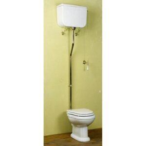 Empire högspolande toalett