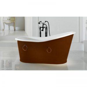 Dakota fristående badkar med ringar