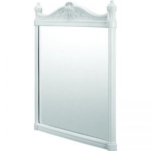 Georgian spegel vit, BUR-T42WHI