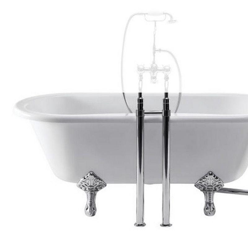 Burlington ståndarben för badkarsblandare