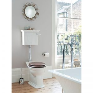 Blenheim lågspolande toalett