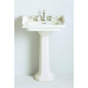 Dorchester tvättställ 63 cm, tre hål för blandare