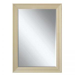 Edgeware spegel krämfärgad