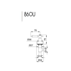 Oxford ventil 860U