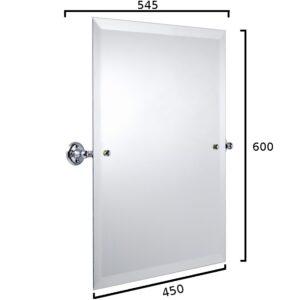 Haga rektangulär spegel