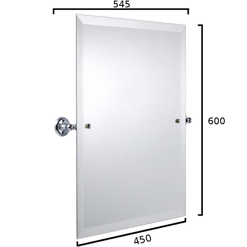 Haga rektangulär spegel, 24222 ritning
