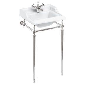 Burlington Classic tvättställ 50 cm med kromställning