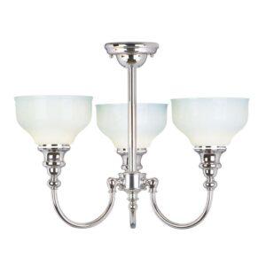 Bandon badrumslampa för tak, tre ljuskällor