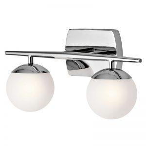 Baysdale badrumslampa, två ljuskällor