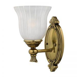 Blyth badrumslampa, en ljuskälla