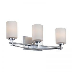 Bowcombe badrumslampa, tre ljuskällor