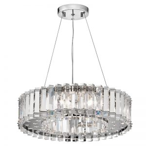 Clifton large badrumslampa av kristall
