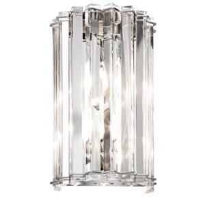 Clifton badrumslampa av kristall