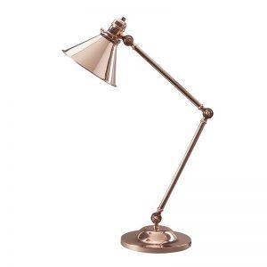 Provence bordslampa, fyra ytbehandlingar