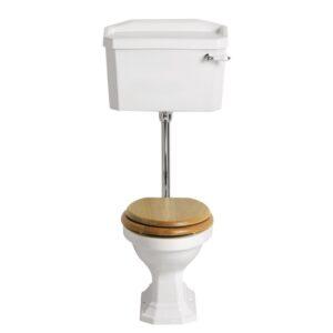 Granley lågspolande toalett