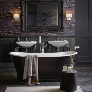 Vacker badrumsinredning från Badex
