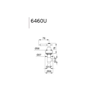 Denver ventil 6460U