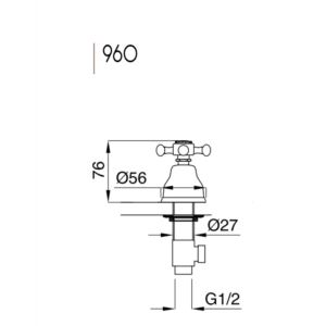 Lady ventil 960