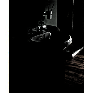 Dorchester halvinbyggt tvättställ 48 cm