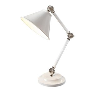 Provence bordslampa, tre färger