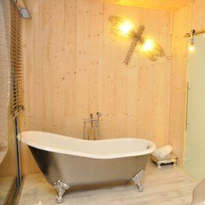 Versailles badkar med tassar