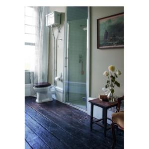 Burlington högspolande toalett