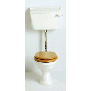 Dorchester lågspolande toalett