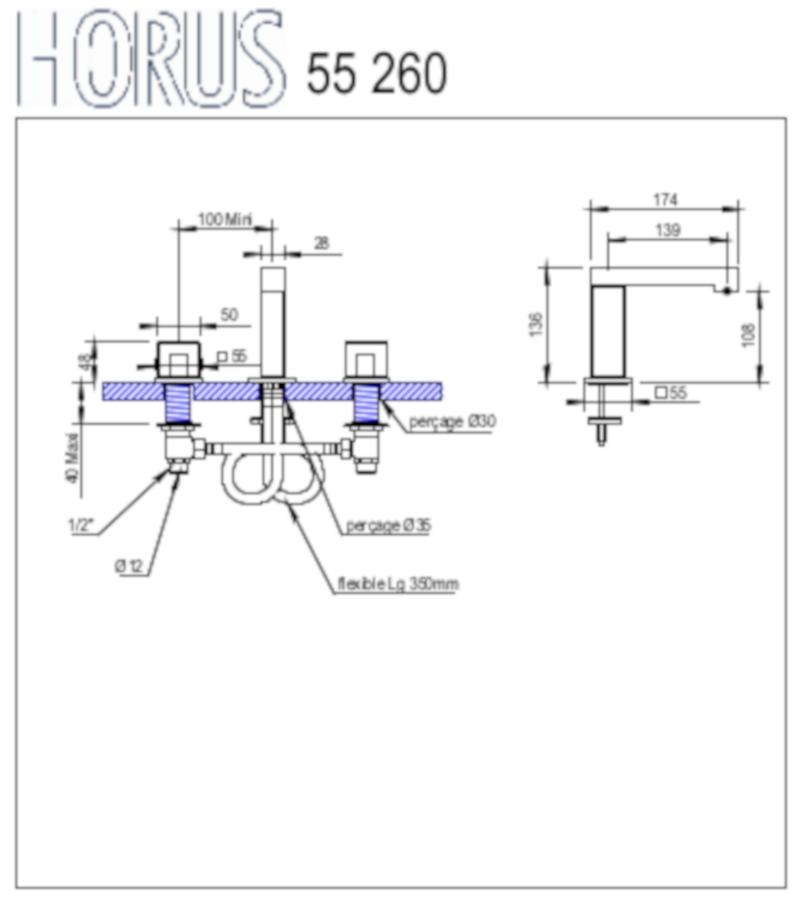 Myriad 55 260 DT
