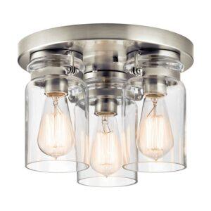 Brinley taklampa med tre ljuskällor