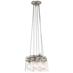 Brinley taklampa med sex ljuskällor
